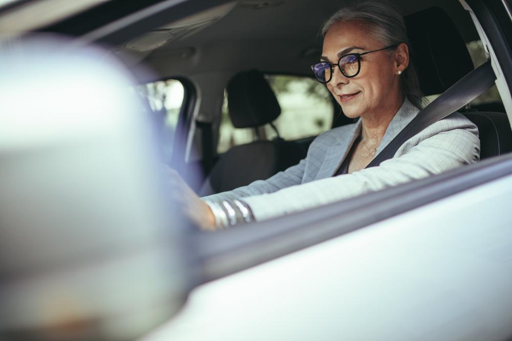 komfort oczu kierowców