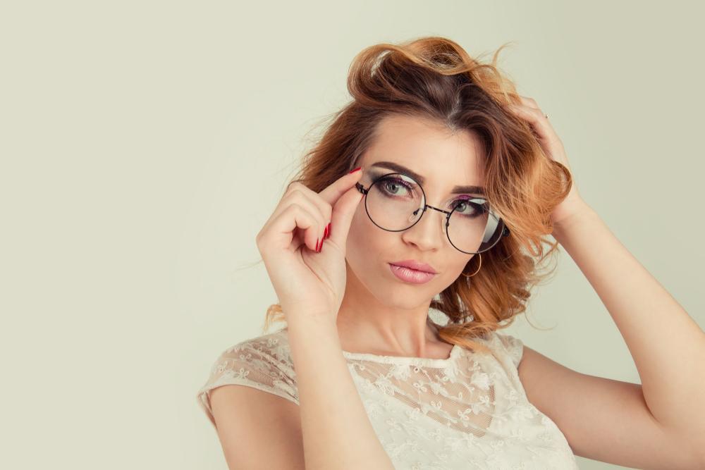 Metalowe oprawy okularowe